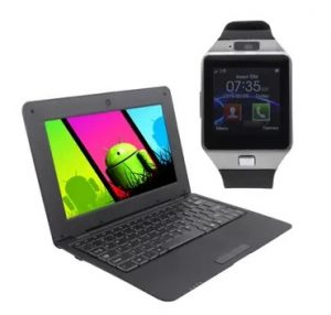 free mini netbook and smart watch